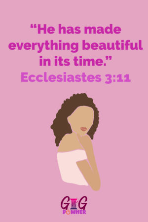 Becca Signature Scripture Ecclesiastes 3:11 from Wholeness Women Devotional Graphic