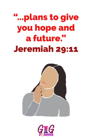 Rosalyn from Red Ribbon Collection in the Wholeness Series Signature Scripture Jeremiah 29:11