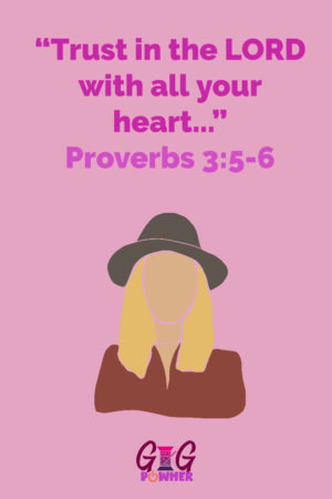 Vivian Signature Scripture Proverbs 3 5 to 6