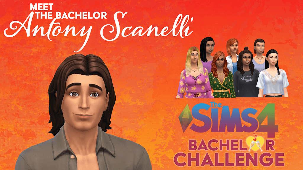 Meet Antony Scanelli SIMS 4 Bachelor Challenge