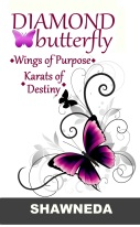 Diamond Butterfly Wings of Purpose Karats of Destiny