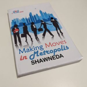 Double Fan Adhesive Bound copy of Making Moves in Metropolis