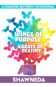 Cover for Diamond Butterfly Wings of Purpose Karats of Destiny Devotional