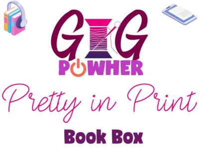 GIG PowHer Pretty in Print Book Box