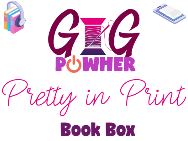 GIG PowHer Pretty in Print Book Box