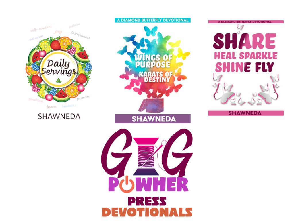 GiG PowHer Devotional Covers