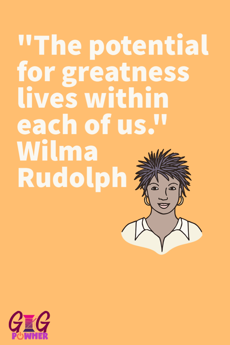 JeShaun Favorite Quote from Wilma Rudolph